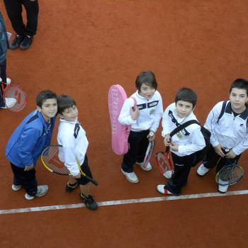 Bambini TC Carbonia alla seconda tappa FRP al TC Cagliari