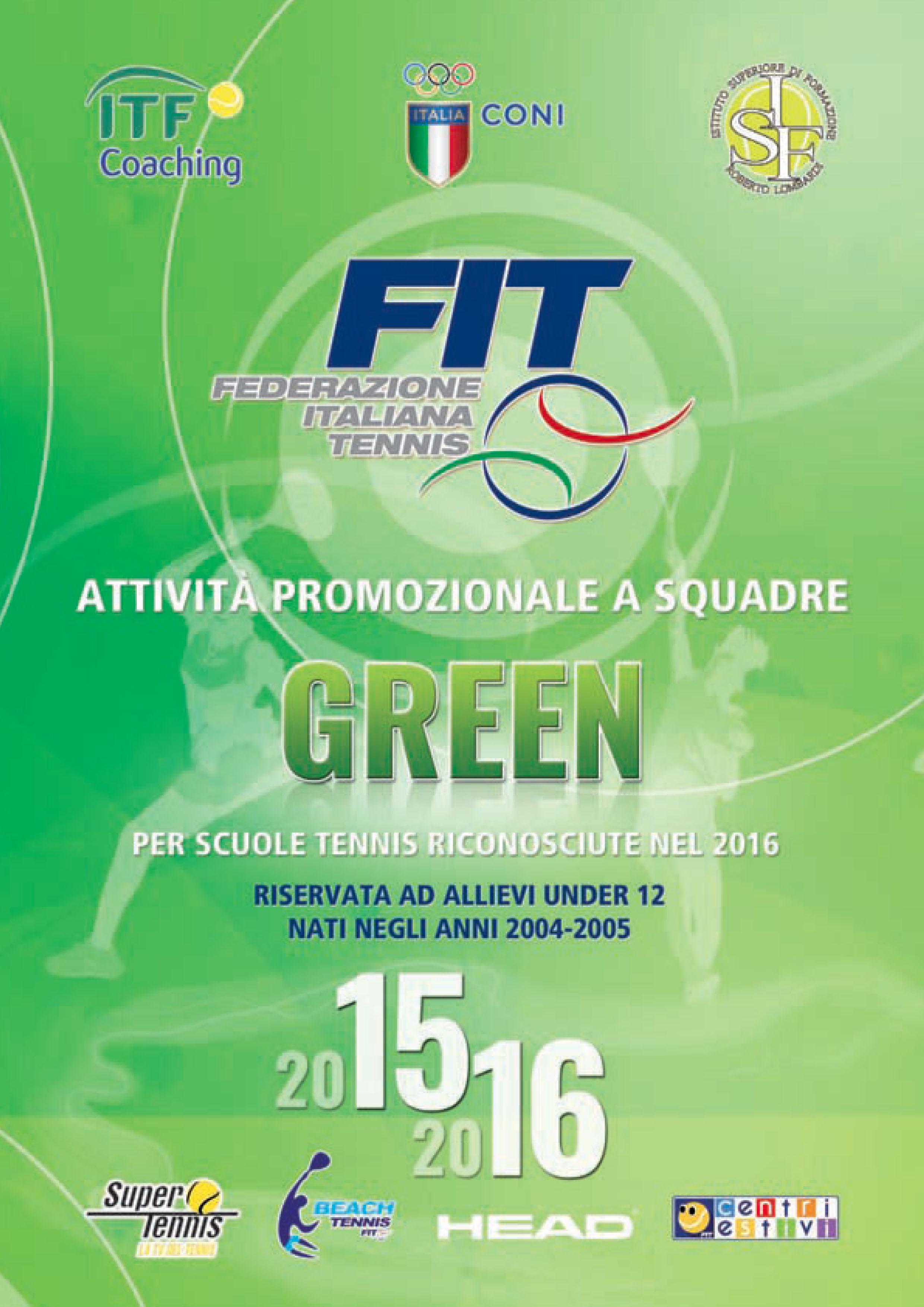 Campionati Promo Green