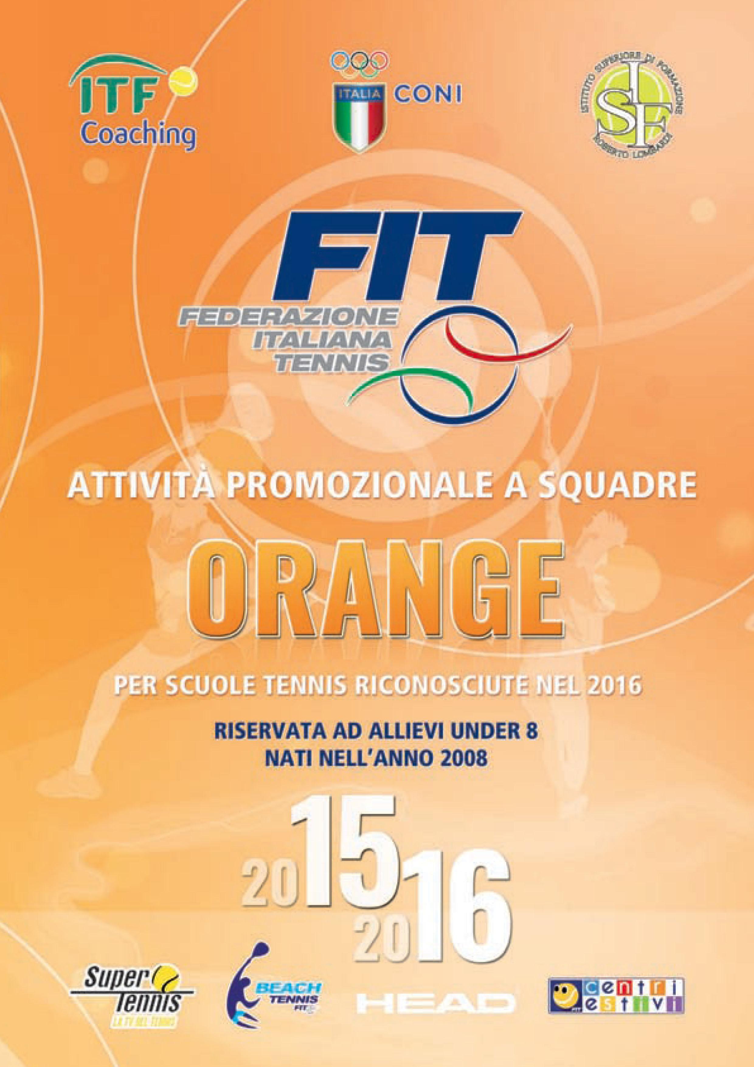 Campionati Promo Orange